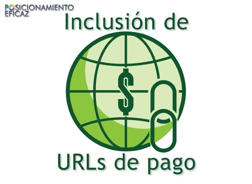 Inclusion de URLs de pago