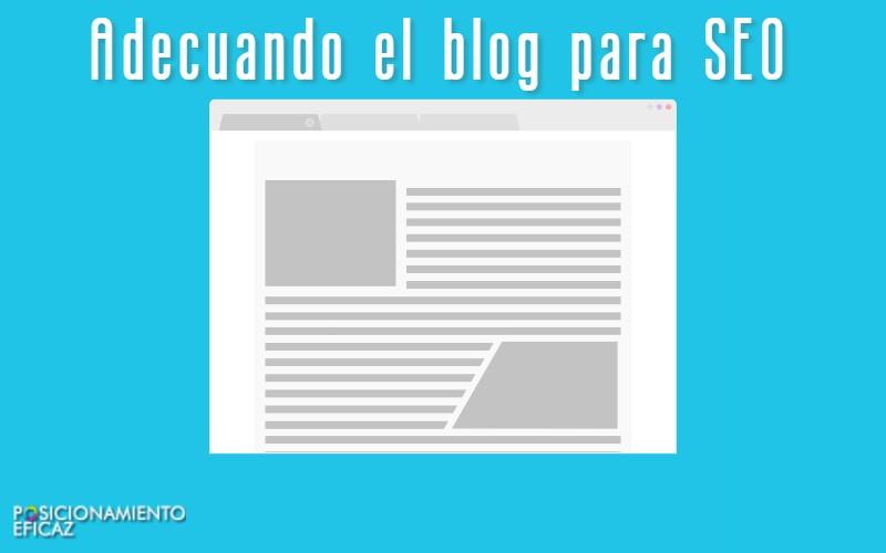 Adecuando el blog para SEO