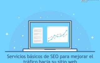 Servicios basicos de SEO para mejorar el trafico hacia su sitio web