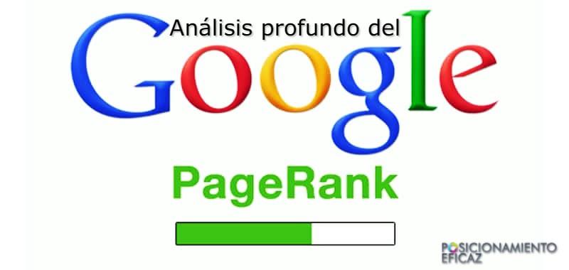 Análisis profundo del Pagerank de Google