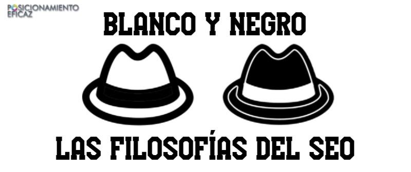 Blanco y negro Las filosofías del SEO