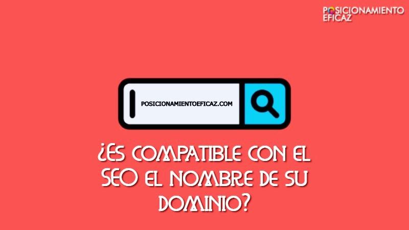 Es compatible con el SEO el nombre de su dominio