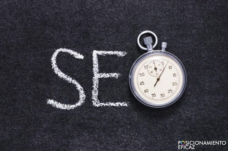 La optimización web requiere paciencia