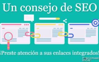 Un consejo de SEO - Preste atención a sus enlaces integrados