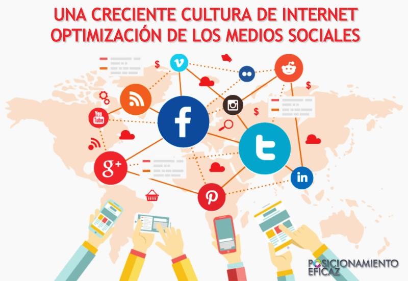 Una creciente cultura de Internet - Optimización de los medios sociales