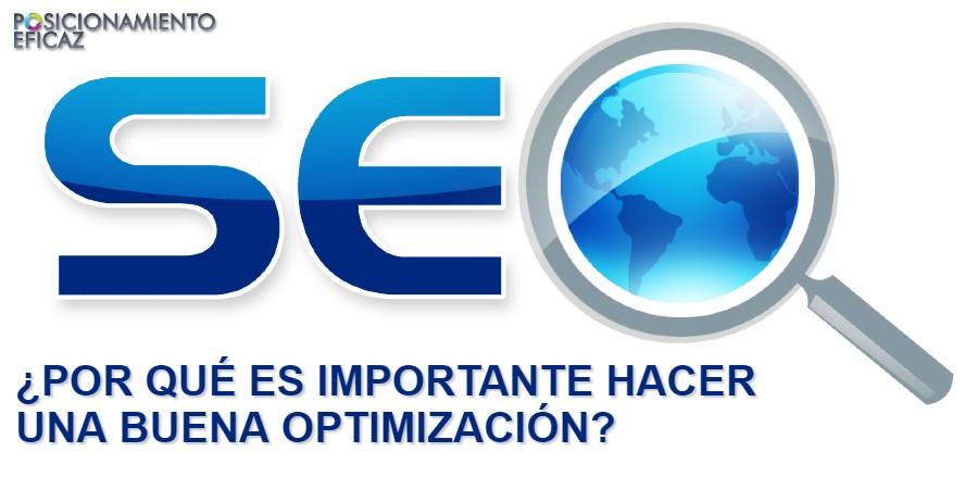 Por qué es importante hacer una buena optimización (SEO)