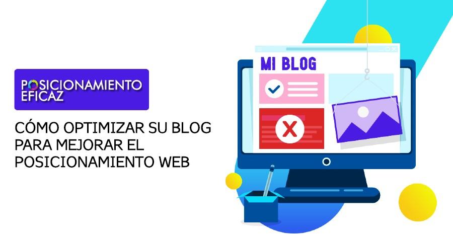 Cómo optimizar su blog para mejorar el posicionamiento web