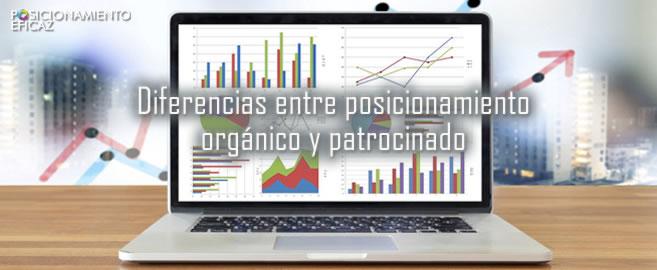Diferencias entre posicionamiento orgánico y patrocinado