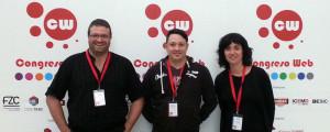 Equipo de PE en Congreso Web 2013