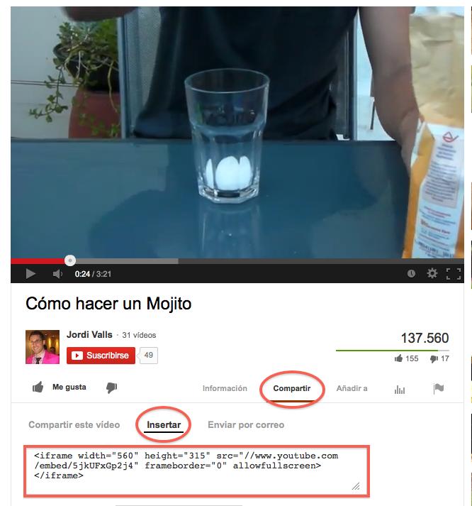 Optimizar video para youtube