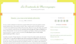 diseño web marronynegro