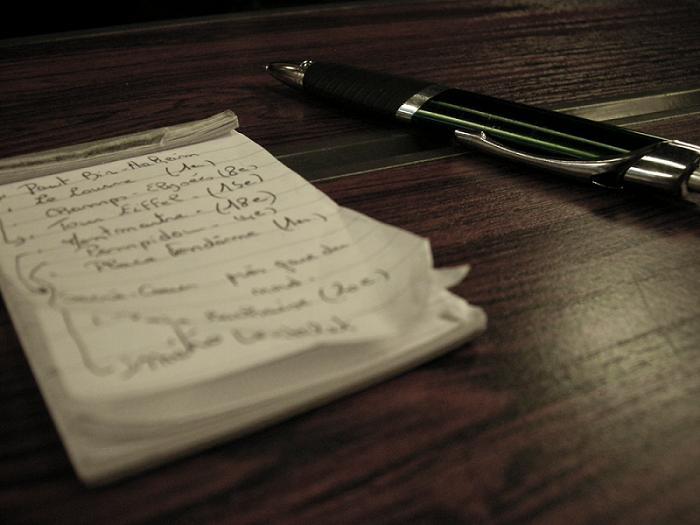 Una lista exhaustiva de características y beneficios te será muy necesaria