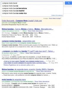 Comprobar la posición en Google de una web