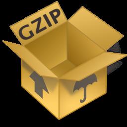 web - gzip