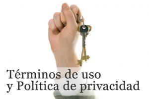 politicas de uso y privacidad