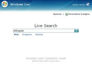 Registro en el motor de búsqueda