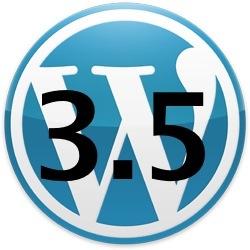 Lanzamiento de WordPress 3.5